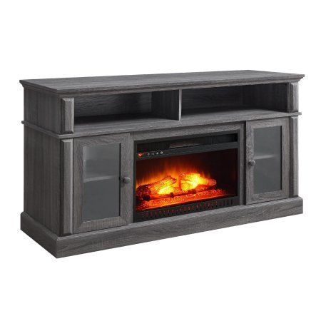 Whalen Barston Media Fireplace for TV's up to 70, Multiple Finishes - Walmart.com