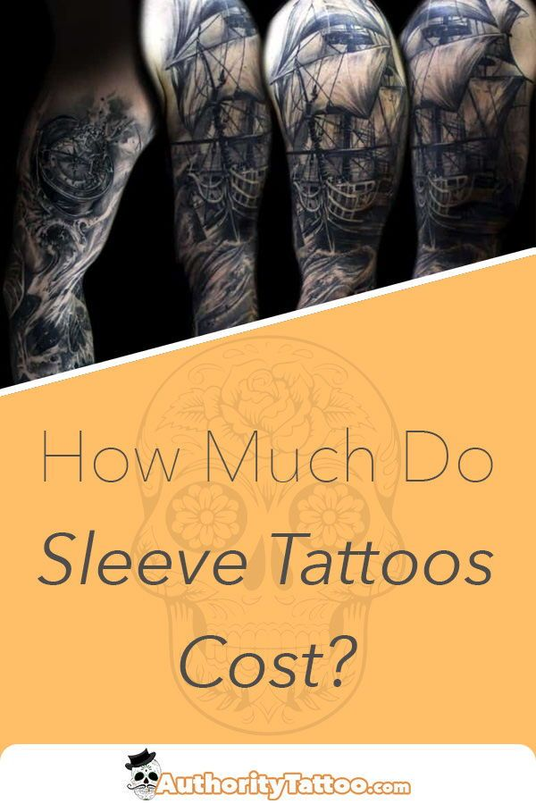 Sleeve tattoos can cost a considerable amount of money, but a good ...