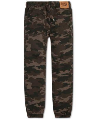 Levi's Boys Ripstop Camo Jogger Pants - Green XL