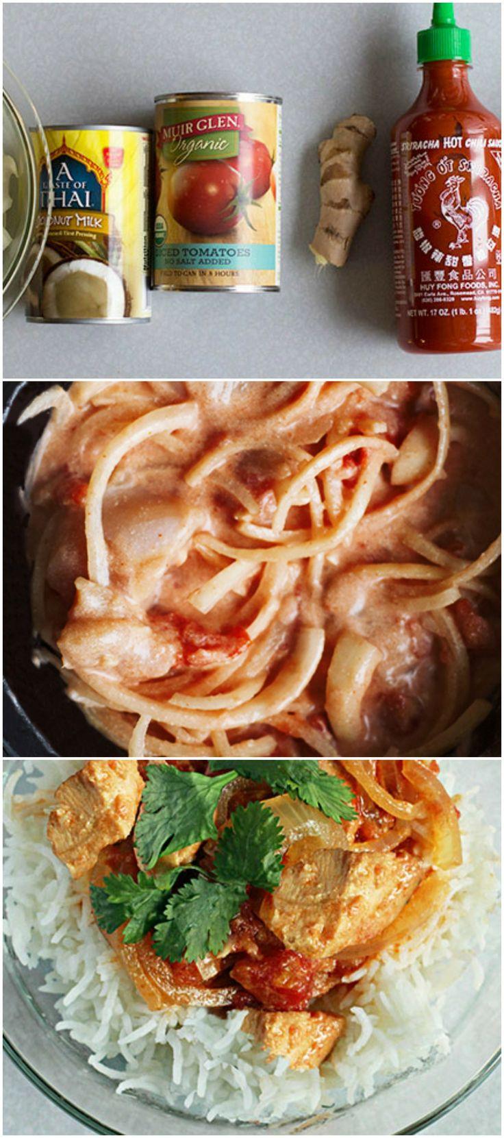 Spicy Lemon Coconut Sauce Recipe — Dishmaps