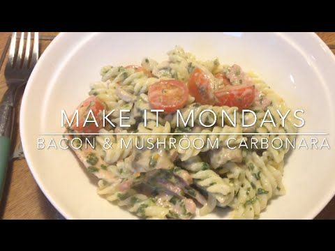 Syn Free Bacon & Mushroom Carbonara | Slimming World | Make It Mondays - YouTube