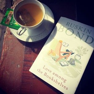 Love Among The Bookshelves by Ruskin Bond. | 34 Books By Indian Authors That Everyone Should Read