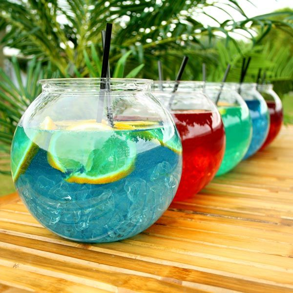 17 best images about different party ideas on pinterest for Acrylic fish bowl