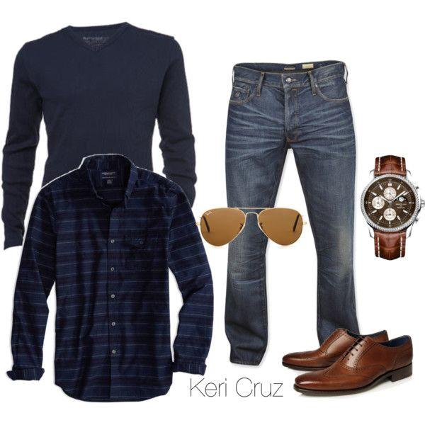 """""""Men's Fashion"""" by keri-cruz on Polyvore"""