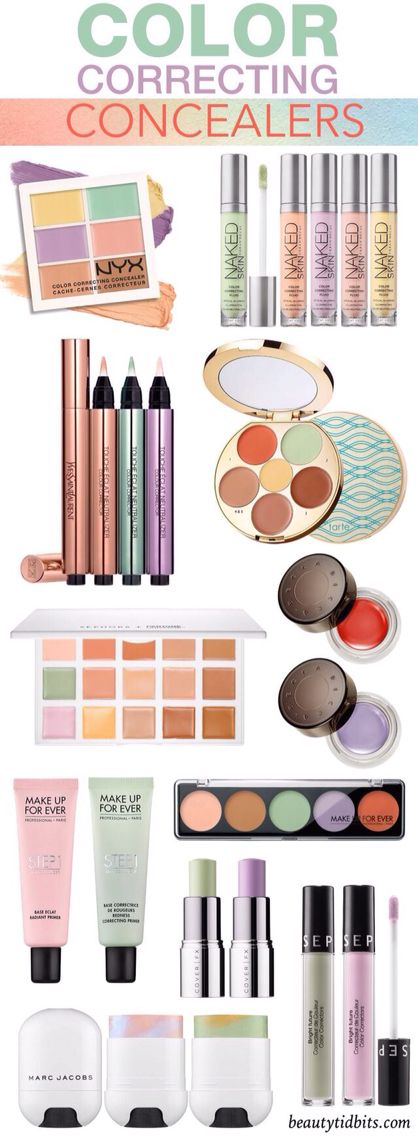 Great colour correcting concealers as a must have