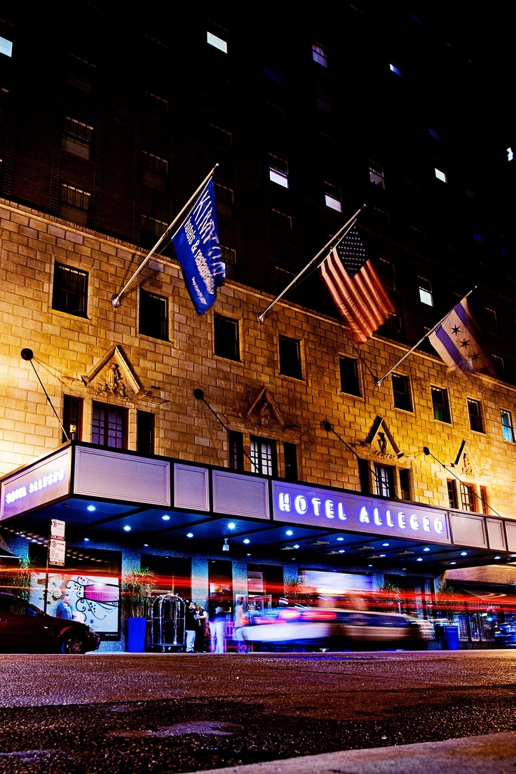 12 best hotel allegro chicago images on pinterest for Top boutique hotels in chicago