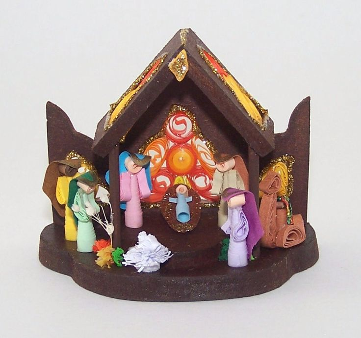 32 best st nicholas day images on pinterest december saint diy christmas nativity kit christmas crafts for adults and kids nativity set nativity scene christmas quilling nativity solutioingenieria Choice Image
