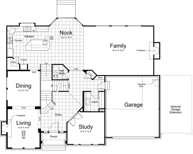 Ivory Homes Hamilton Floor Plan Thefloors Co