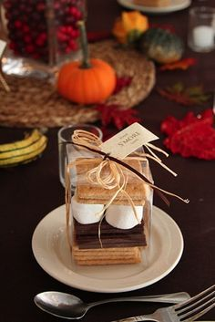Toasty Smore Favors