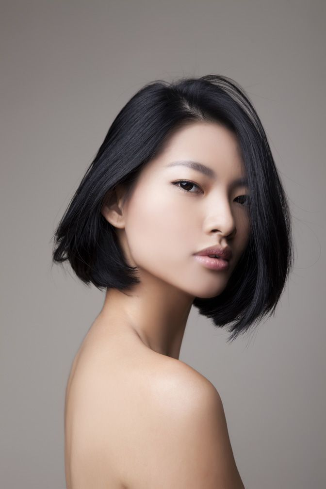 Image result for asian bob haircut
