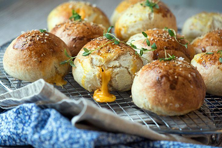 Osteboller opskrift - de lækreste oste boller som fx tilbehør til suppe