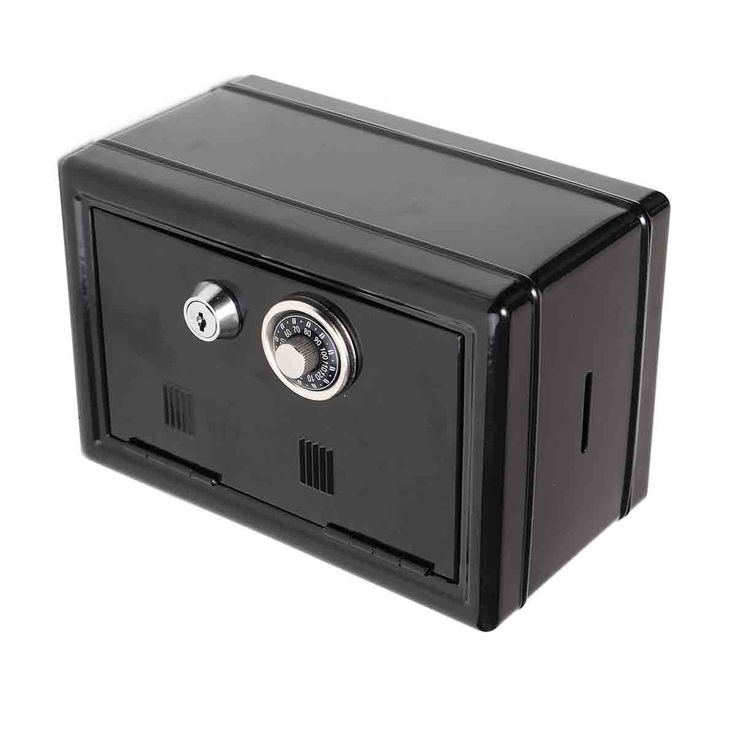 Metal Locker Dial & Key Combination Money Safety Cash Counter Bank Deposit Box Safes #jewelry, #women, #men, #hats, #watches, #belts, #fashion
