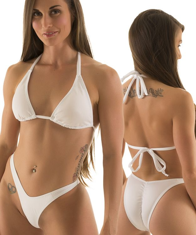 The Venus Super Cheek bikini bottom is our Brazilian thong. 2 bottoms in 1 Seamless and Reversible with a scrunchie bottom detail on the back. This.