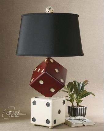 Saw this on the Gallery Furniture pinterest boards, but have to check to see if it is in stock at Gallery Furniture. I think it sets the perfect vibe for a bachelor pad. If it isn't in stock, I have posted a few great alternatives as well! #coollamp