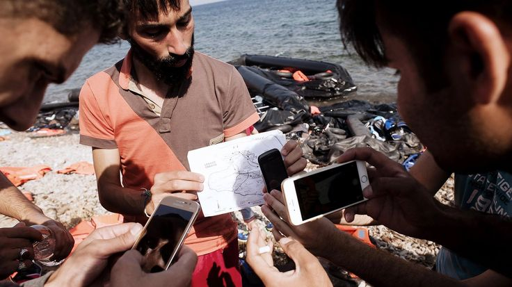 Refugees and smartphones