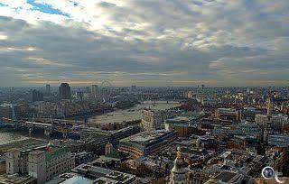 london eye cityscape