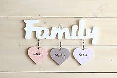 Dekorácie - Family - 5585087_