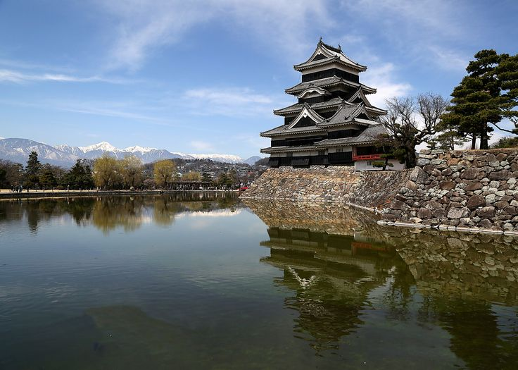 Matsumoto is especially known for its majestic six storey castle. - Photo by Jon Gurr, Group Escort