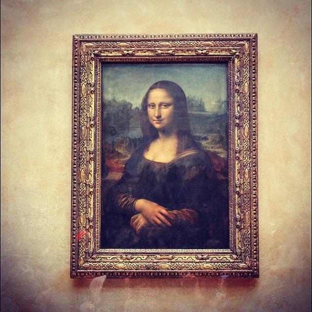 La Gioconda, museo del Louvre