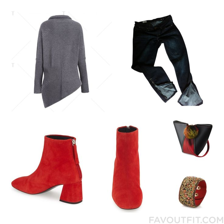 Closet Recipes Including Sweater Gap Jeans Topshop Ankle Booties And Ankle Bootie Boots From November 2016 #outfit #look