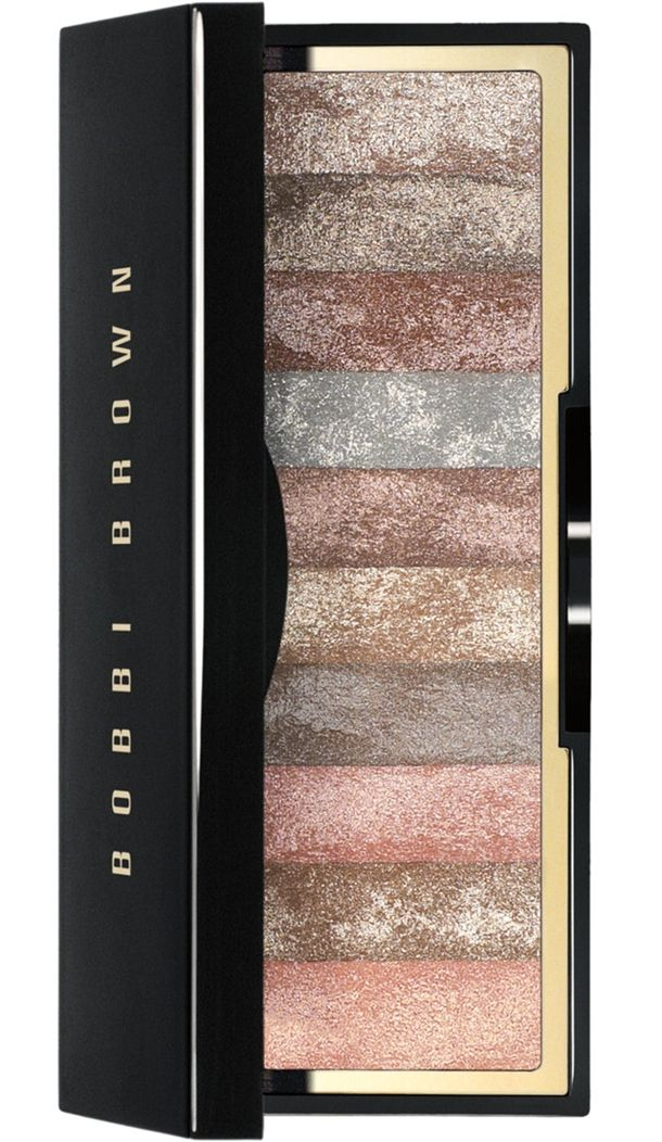 Bobbi Brown Sequin Shimmer Brick... In my personal opinion, this is WAYYYY better and has more wearable shades than the Naked pallet.