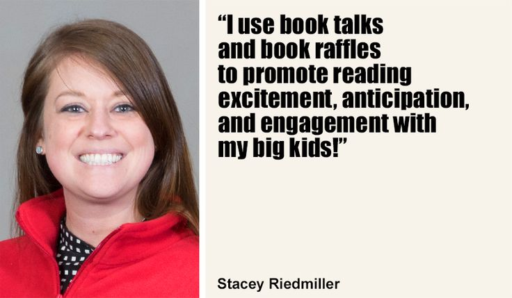 Stacey Riedmiller's Students LOVE Book Raffles! « Judy Newman at Scholastic