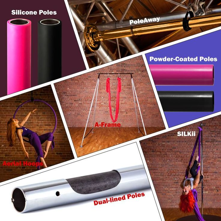 #XPole quality products, from poles to hoops and silks