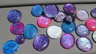 Recycle Nail Polish Jewelry Craft Tutorial, via YouTube.