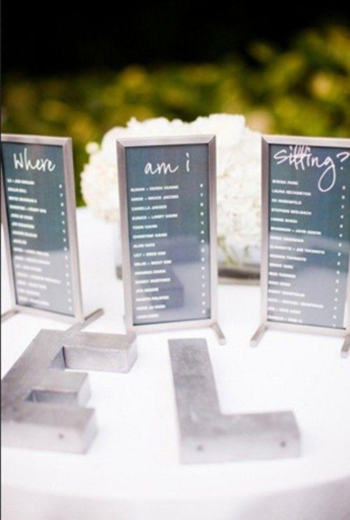 17 unique seating chart ideas for weddings mon cheri bridals