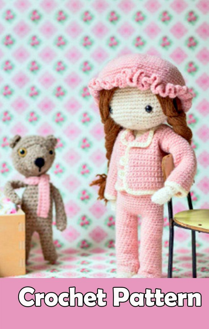 My Crochet Doll Book Review Patterns Crochet Dolls Dolls Crochet