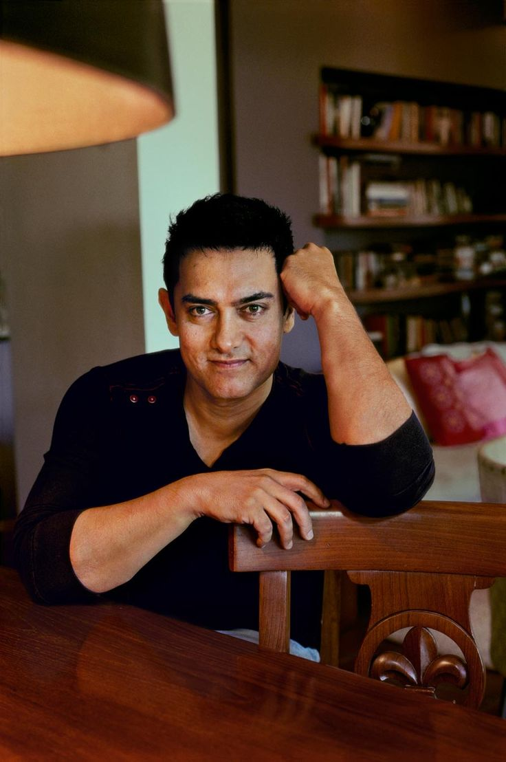 Aamir Khan in Mumbai, June 2010. Photograph by Steve McCurry.