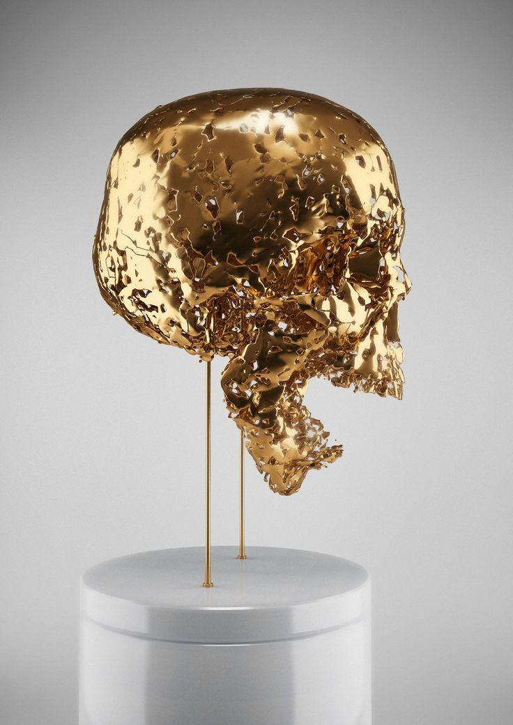 Skullptures by Hedi Xandt