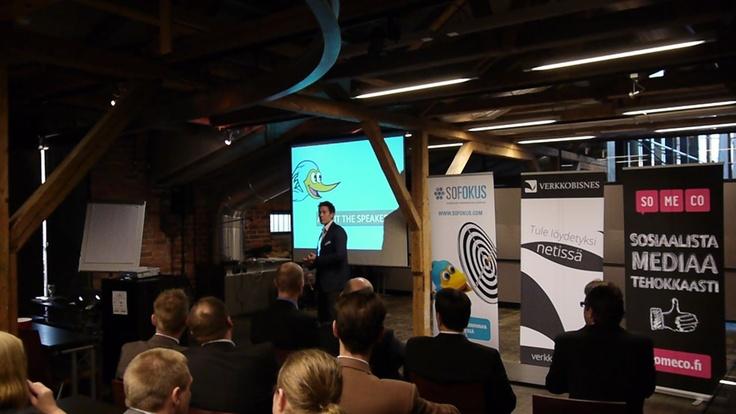 Teemu Malinen, Sofokus Oy @Liiketoiminta2 -event