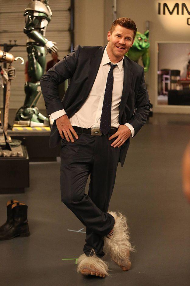 "Bones | David Boreanaz behind the scenes of ""The Geek in the Guck"""