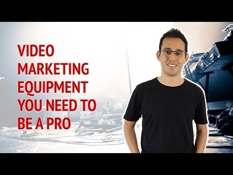Video Marketing Equipment You Need To Be A PRO • Alex Ford