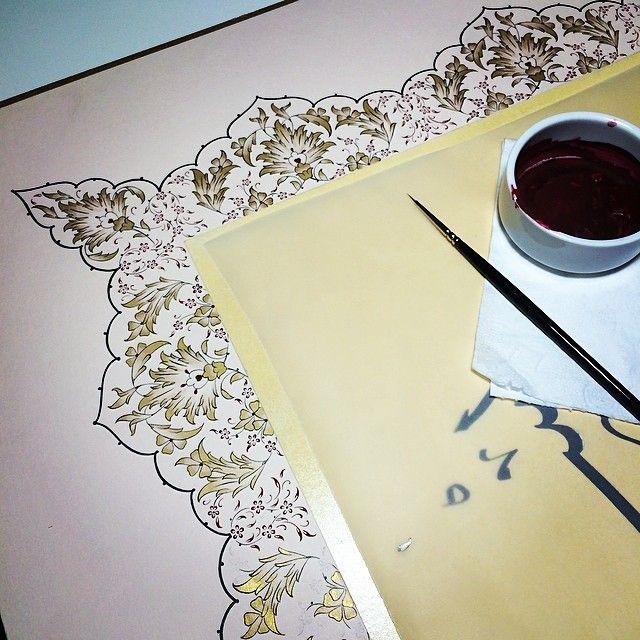 DILARA YARCI - #workinprogress  #artwork #mywork #illumination...