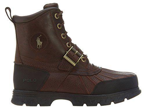 Trucker's Choice - Calzado de protección de cuero para hombre marrón marrón, color marrón, talla 40