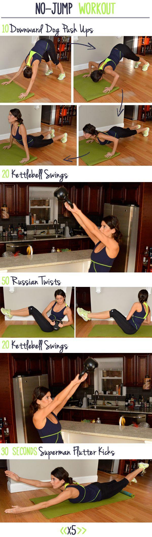No-Jump (Quiet) Workout