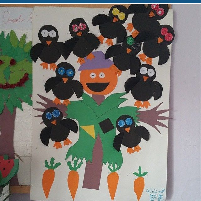 Crow craft idea for kids   preschool crafts and worksheets