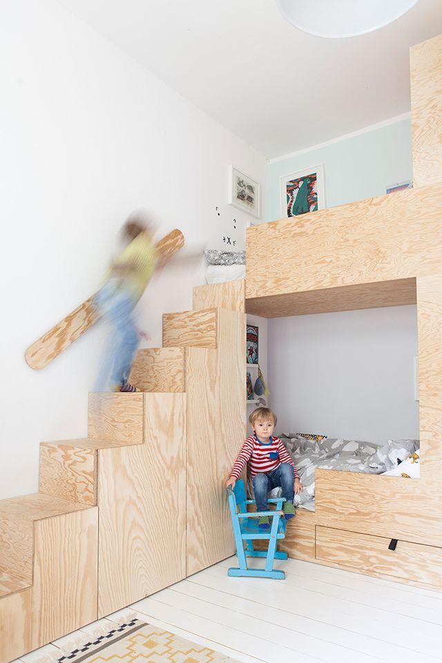 die besten 25 kinder etagenbetten ideen auf pinterest junge etagenbetten kinderzimmer und. Black Bedroom Furniture Sets. Home Design Ideas