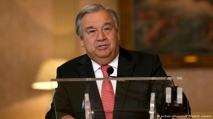Portugal Lissabon Antonio Guterres (picture-alliance/AP Photo/S.  Gover PROPUESTO PARA REEMPLAZAR AL SECRETARIO DE LA O.N.U.