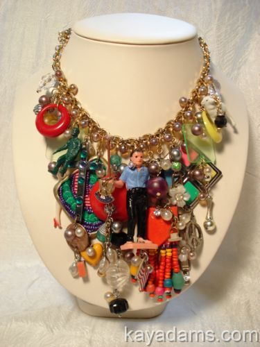 Gotta love this outlandish necklace by Kay Adams. kayadams.com