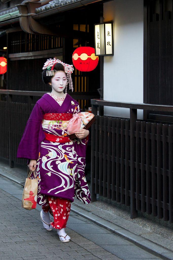 Maiko San, Kyoto, Japan | da .mushi_king