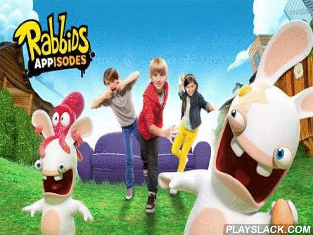 Rabbids: Appisodes  Android Game - playslack.com , Interact with amusing bunnies. Don't let them plummet, do work, look for graphic parts, and compete non-identical mini-games. In this game for Android you can have enjoyable with insane bunnies, heroes of a well-kown wit. propel foodstuffs at the bunnies. Look for objects hidden on levels to get non-identical bonuses. Touch the screen to knocked  bunnies. drop by multicoloured venues and join in with the enjoyable of the insane bunnies. open…