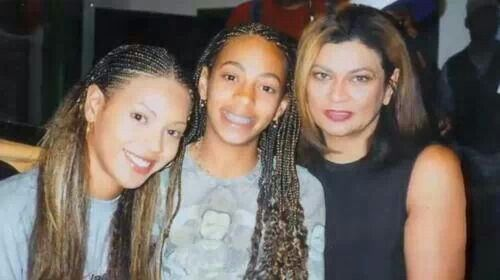 Tina, Beyonce, and Solange | Friends... Family ...