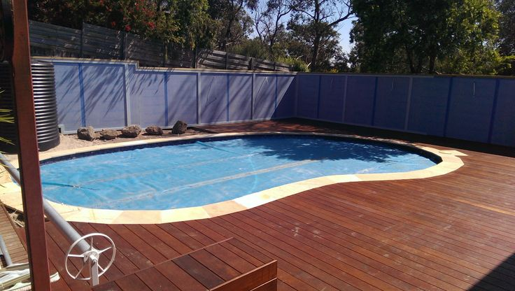 Partial inground pools joy studio design gallery best for Pool design eltham