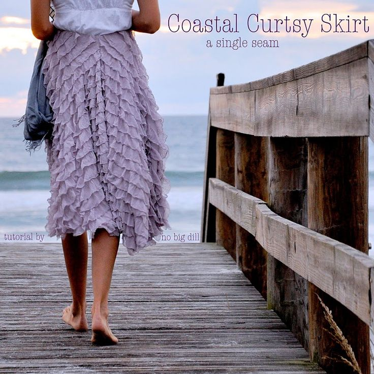ruffle skirtSewing, Skirts Tutorials, Ruffles Skirts, Diy Shirt, Curtsy Skirts, Diy Clothing, Big Dill, Coastal Curtsy, Ruffles Fabrics