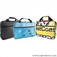 Laptop bag with padding. Up-cycled PVC www.ccpromos.co.za