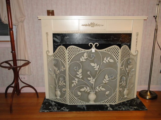 17 Best Images About Fire Place Screens On Pinterest Antiques Arts And Crafts And Old Fireplace