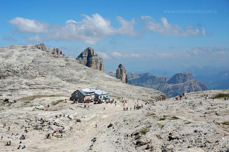 Forcella Pordoi e Piz Boè in Val di Fassa | Zonzolando